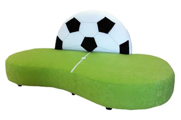 Kindersofa Fußballwiese