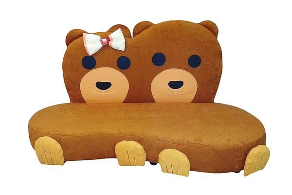 Kindersofa Zwei Bären
