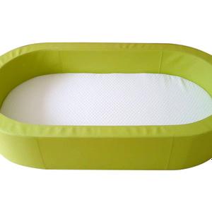 Wichschaumbetten Oval mit Matratze
