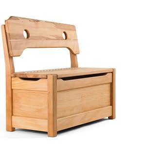 Kindersitzbank mit Truhe
